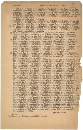 Chronology   Key Documents of German-Jewish History